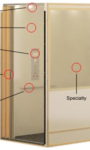 Accessories and Residential Finishes for Elevators