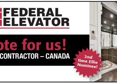 Nominated for 2019 Best Canadian Contractor