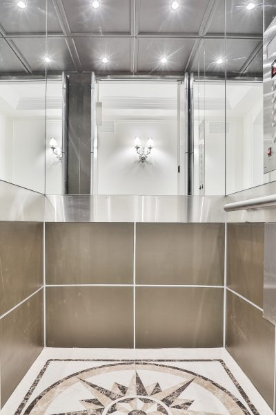 Renaissance Hydraulic Elevator interior