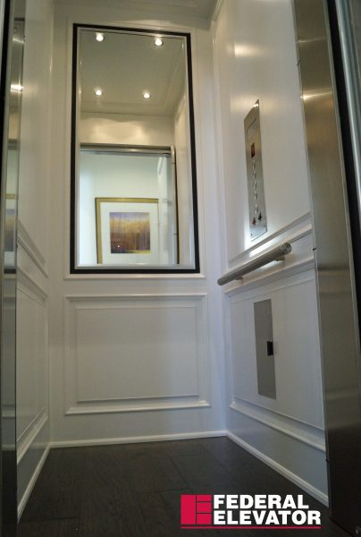 Renaissance Hydraulic Elevator example