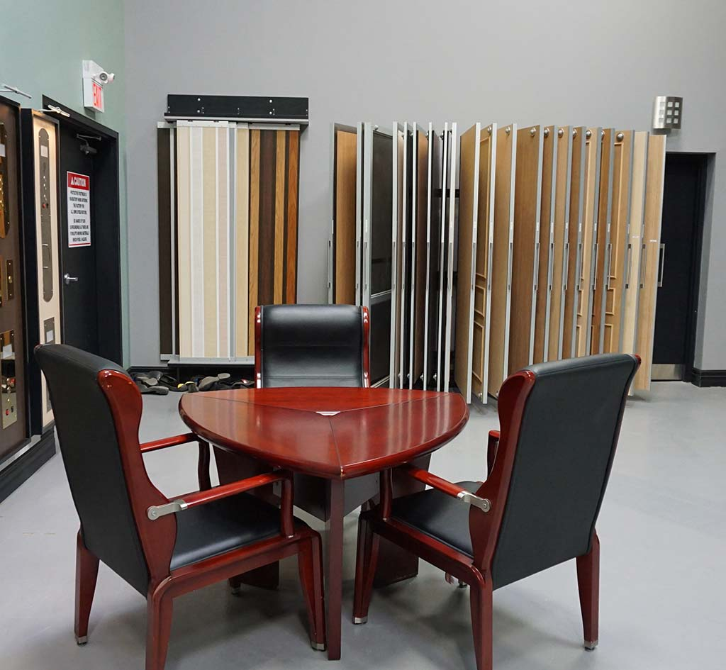 Federal Elevator Showroom located in Toronto for home elevators